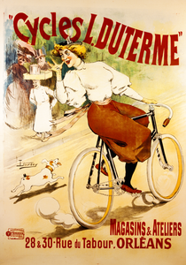 Cycles L. Duterme Poster