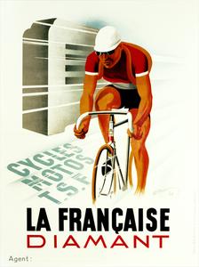 La Francaise Diament Deco Poster