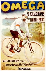 Omega Bordeaux-Paris Poster