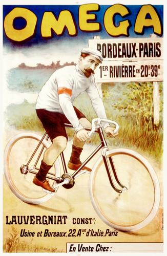 Omega Bordeaux-Paris Poster
