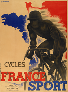 Cycles France Sport Poster