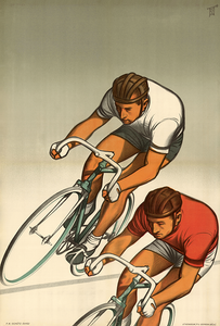Two Racers Poster