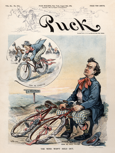 Puck Magazine - August 26, 1896 Poster