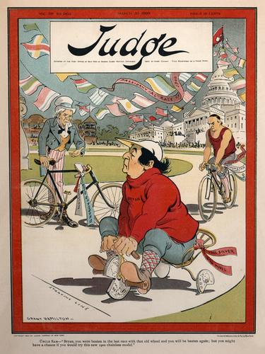 Judge Magazine - March 31, 1900 Poster