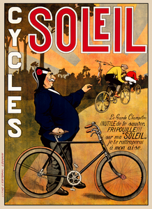 Cycles Soleil Poster