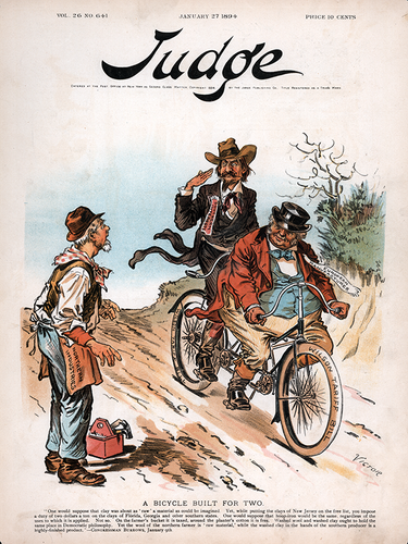 Judge Magazine - January 27, 1894 Poster