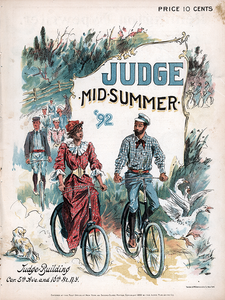 Judge Magazine - Mid-Summer 1892 Poster
