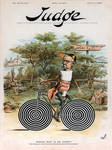 Judge Magazine April 14, 1894 Poster