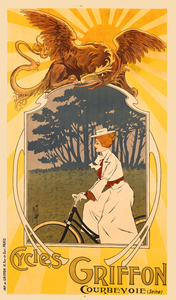 Cycles Griffon Poster by Misti