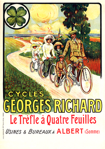 Georges Richard Vintage Poster