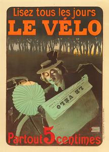 Le Velo Vintage Poster