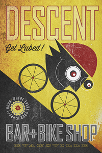 Descent Bar & Bike Shop by John Evans