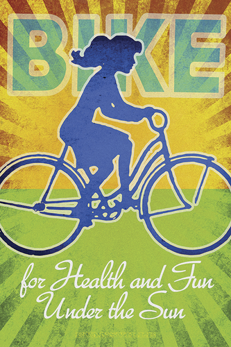 Bike for Health and Fun by John Evans