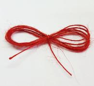 Thin Jute Twine - Red