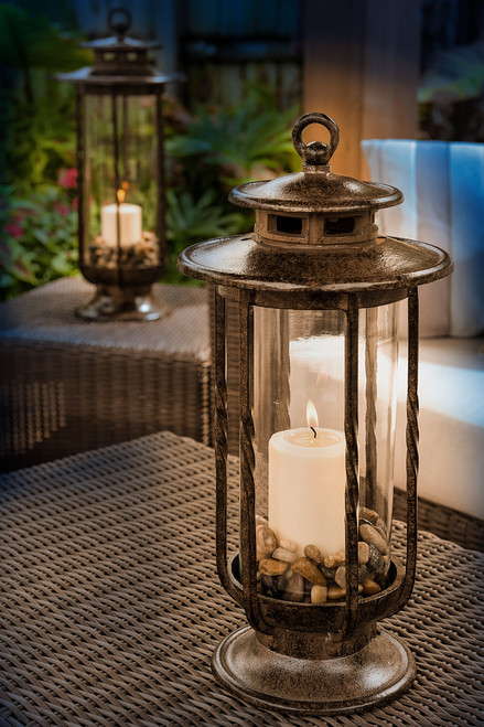 H Potter Small Hurricane Lantern