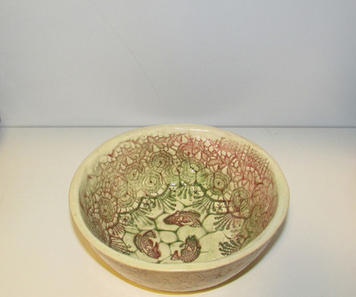 Rustic Ceramic bowl , Dessert bowl  Unique Serving bowl