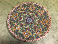 Handmade Enamel Pottery Plate