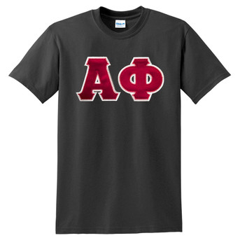 Fraternity & Sorority Lettered Matching  T-Shirt
