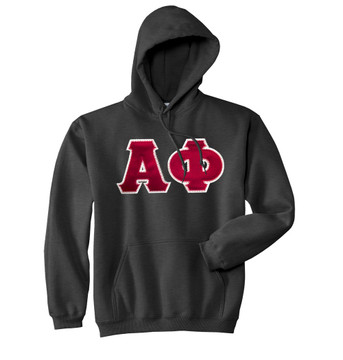 Fraternity & Sorority Lettered Matching Hoodie