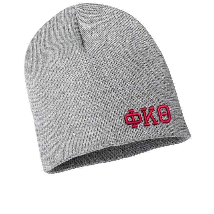 Fraternity & Sorority Embroidered Beanie