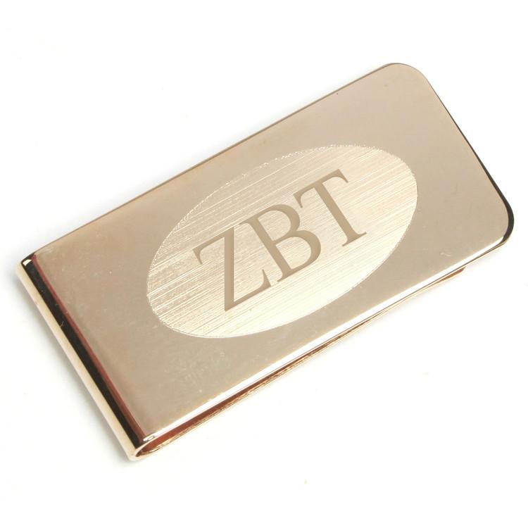 Fraternity Brass Money Clip