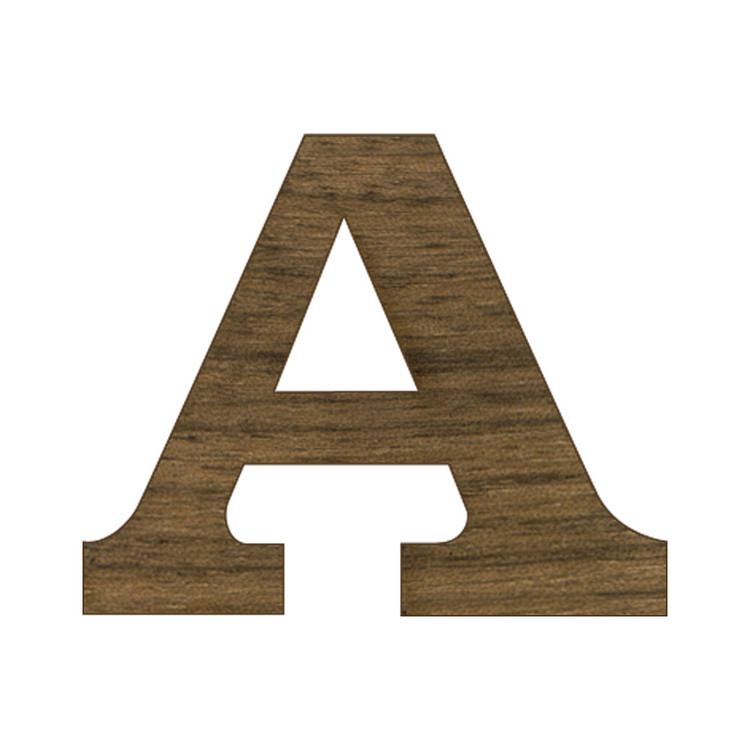 12 inch regular wood letters or numbers