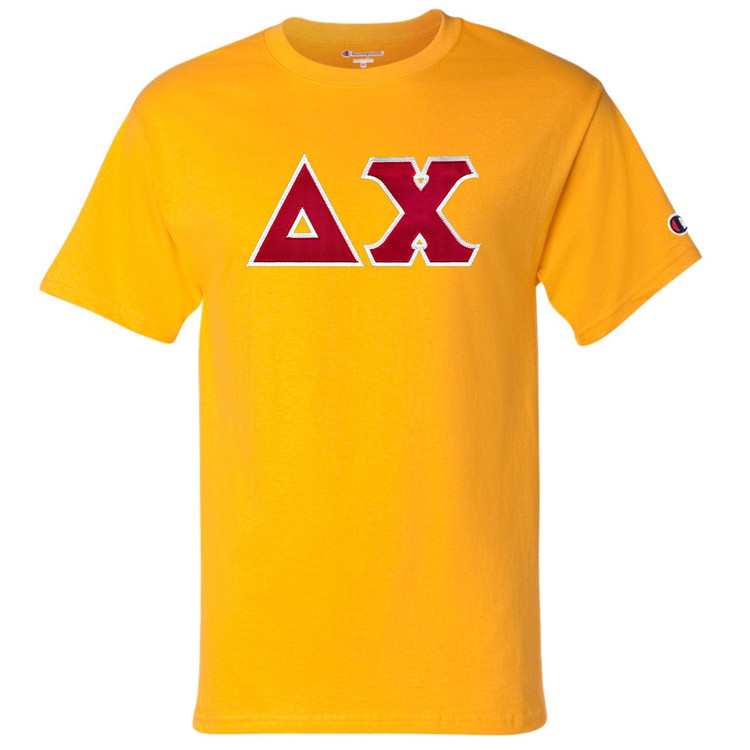 Fraternity & Sorority Champion Lettered Short Sleeve T-Shirt