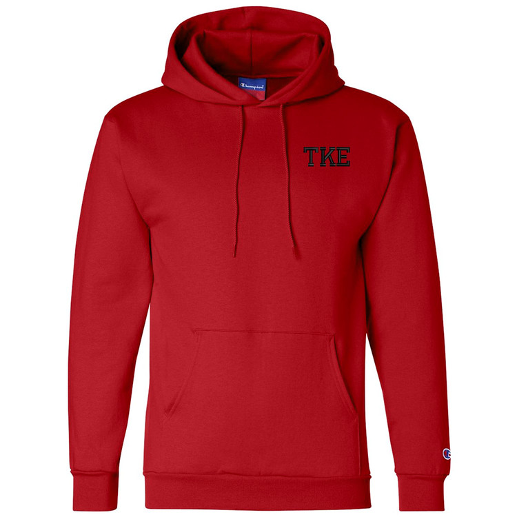 Fraternity & Sorority Champion Brand Embroidered 9 ounce 50/50 Hoodie