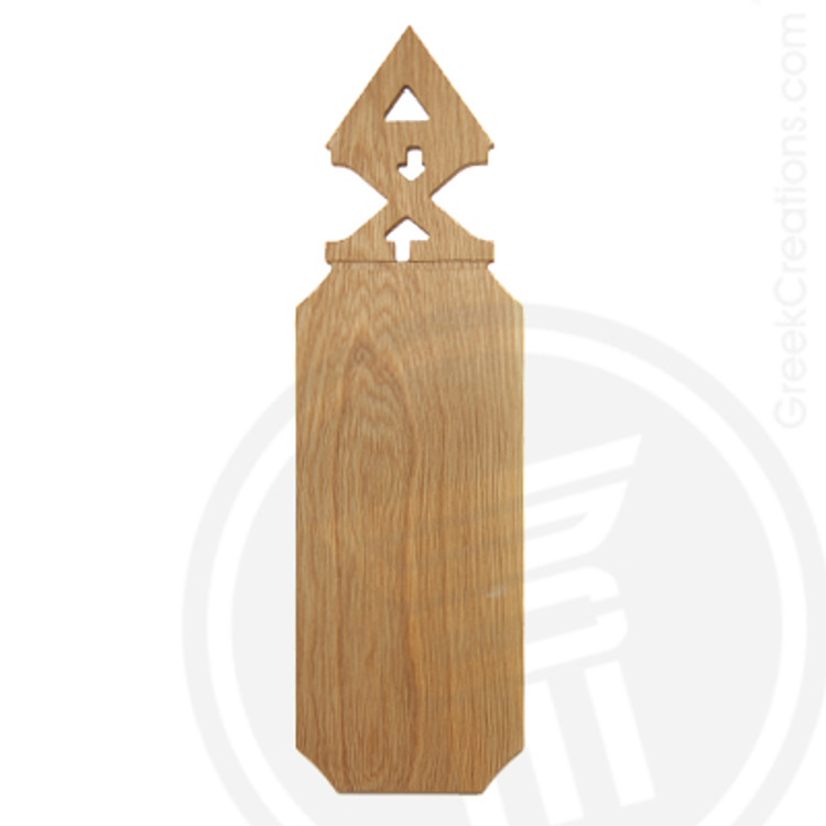 Delta Chi 21 Inch Blank Greek Letter Paddle