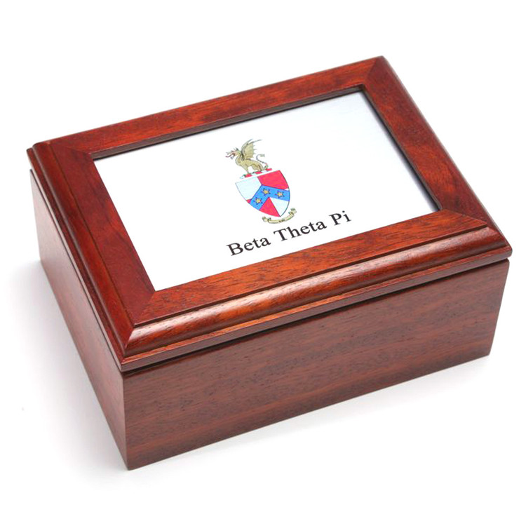 Wooden Box With Frame