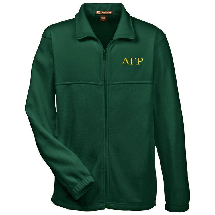 Fraternity Embroidered Full Zip Polar Fleece Jacket