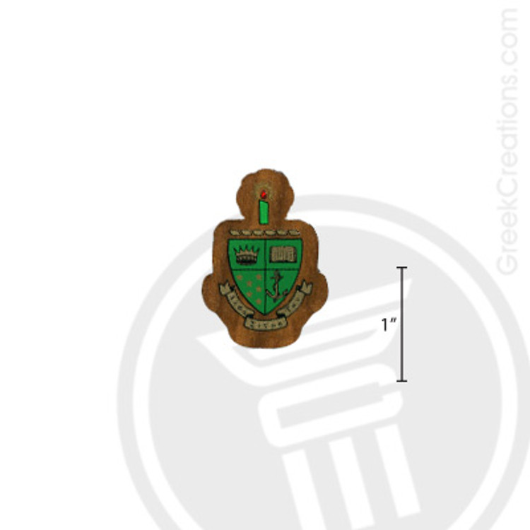 Alpha Sigma Tau Small Raised Wooden Crest