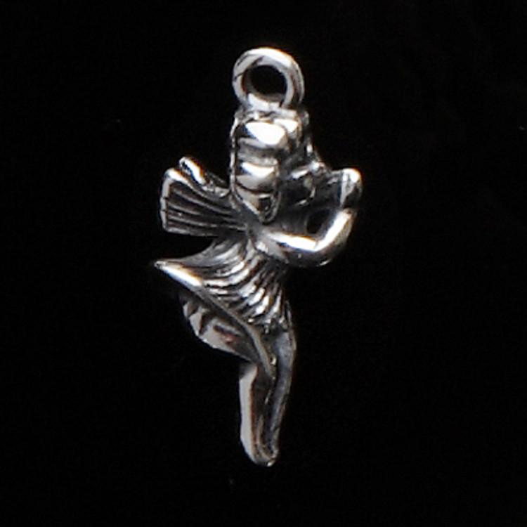 Sterling Silver Angel Symbol Charm