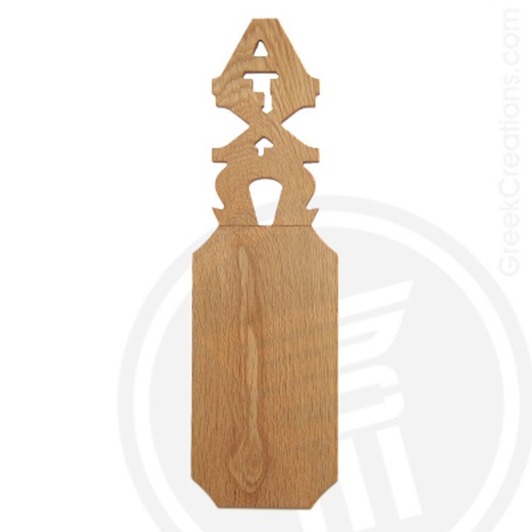 Alpha Chi Omega 21 Inch Blank Greek Letter Paddle