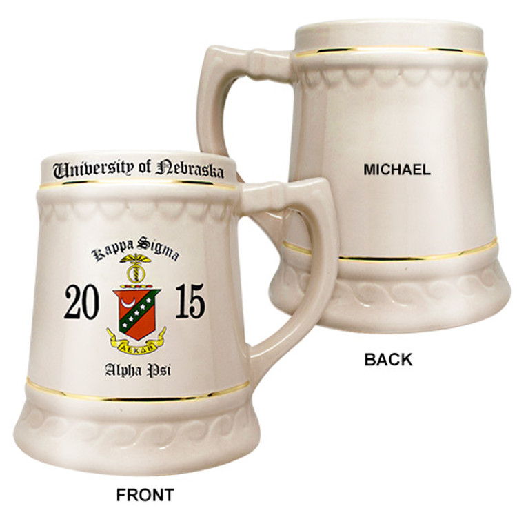 32 ounce Traditional Chapter Stein