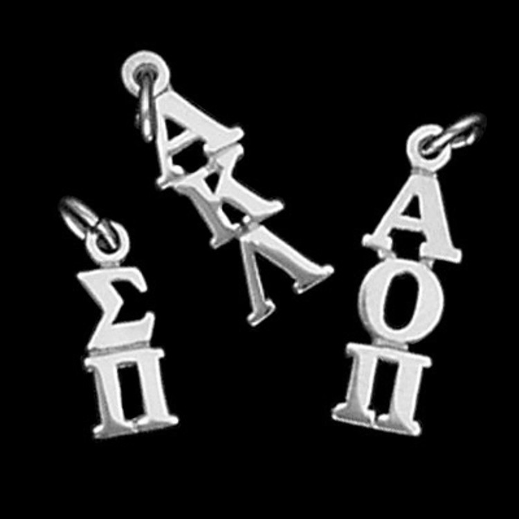 Greek Letters Classic Lavalier Drop for National Groups