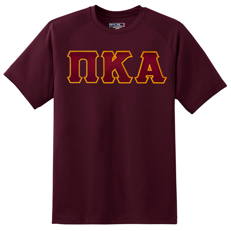Fraternity & Sorority Sport Tek Dry Zone Lettered T-Shirt