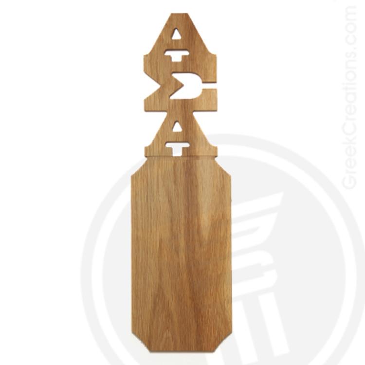 Alpha Sigma Alpha 21 Inch Blank Greek Letter Paddle