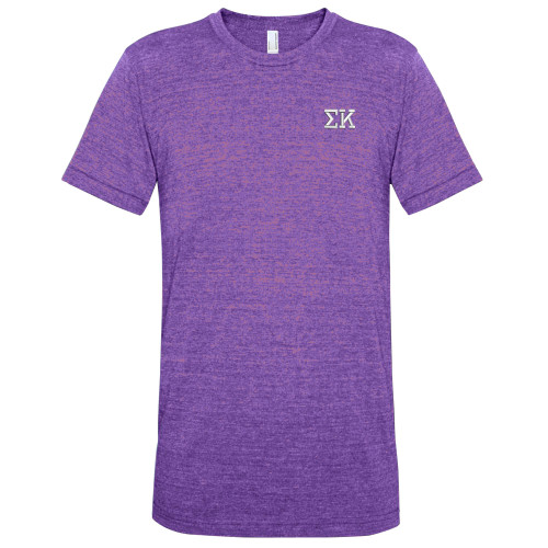 Fraternity sorority embroidered track tee for American apparel sorority shirts