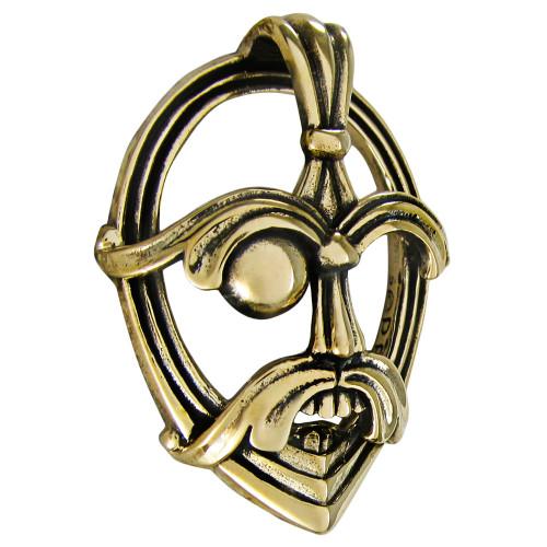 Bronze Odin Three Dimensional Pendant