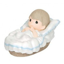 "Precious Moments ""Baptized In His Name"" Boy Figurine"