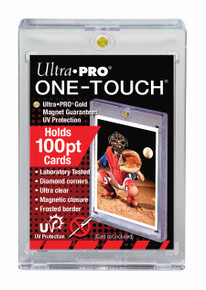 Ultra Pro 100 Pt. UV One-Touch Magnetic Holder