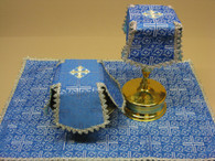 Aer and Chalice Veil Set - Blue #12