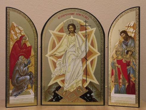 Resurrection Triptych 01 Skete Of St John