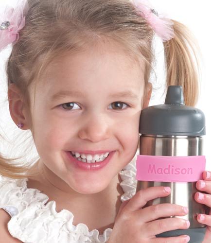 """Custom Bubblegum Pink """"Butterflies"""" (2 Pack)"""