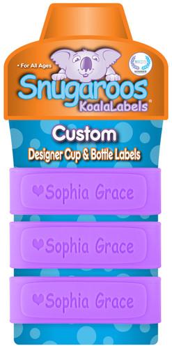 Lollipop Purple with heart icon