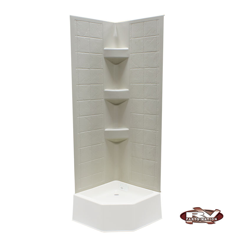 24 Quot X 24 Quot X 67 Quot Rv Corner Tile Surround