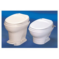 Thetford Aqua-Magic RV Toilet V Foot Pedal Flush High White