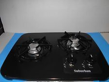 Suburban 2 Burner Stove Top Drop In 2937ABK