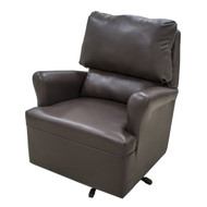 Mocha Brown Swivel Chair